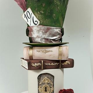 Alice in wonderland - Cake by Silvia Caballero