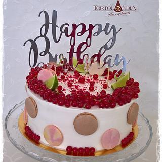 Red velvet in creame - Cake by Tortolandia