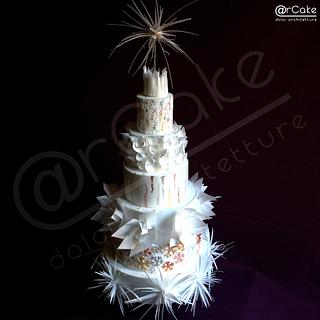 Iced  - Cake by maria antonietta motta - arcake -