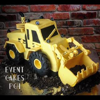 3D Construction Truck - Cake by Cakesburgh (Brandi Hugar)
