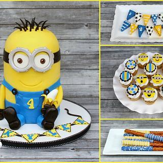 Minion Desserts Table