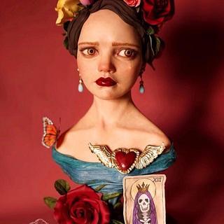 The Sorrow (Sugar Skulls Bakers) - Cake by Marta Hidalgo