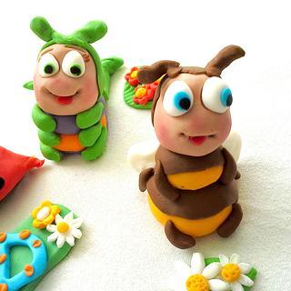 Little bugs - Cake by Crisan Monica/Mimi Cake Figurines