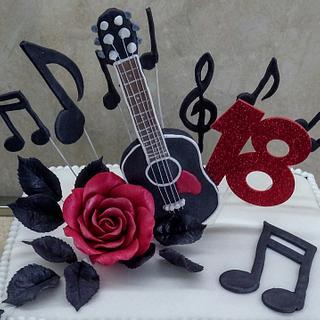 Cake for musician