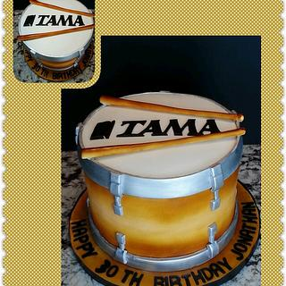 TAMA DRUM CAKE