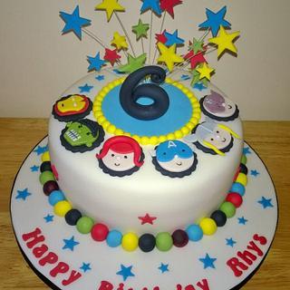 Avengers Birthday Cake - Cake by T cAkEs