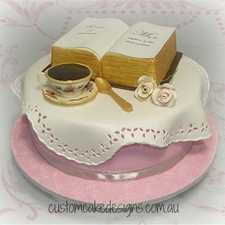 90th Birthday Cake - Cake by Custom Cake Designs
