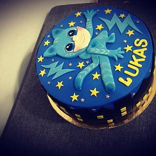 P.J. Mask Birthday cake