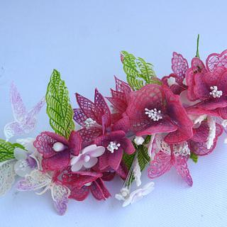 Gelatin flowers