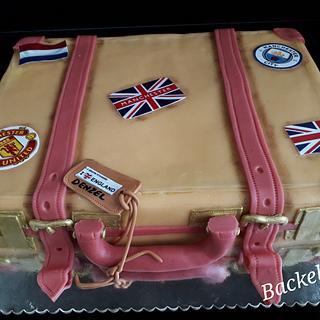 Koffer taart