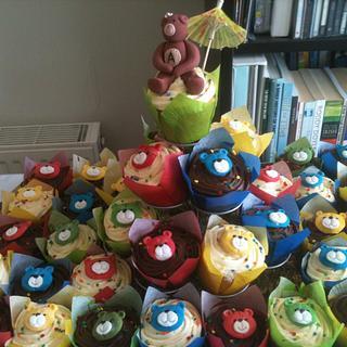 Teddybear cupcakes