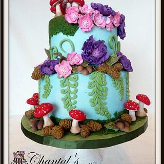 "Woodland ""Not So Fairy"" Birthday Cake - Cake by Chantal Fairbourn"
