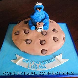 Giant Cookie Cookie Monster