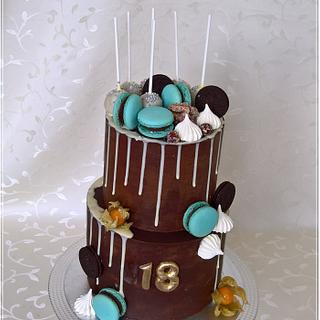Drip cake & sweet 18
