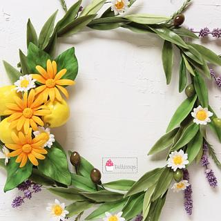 Wreath of Health for World Cancer Day