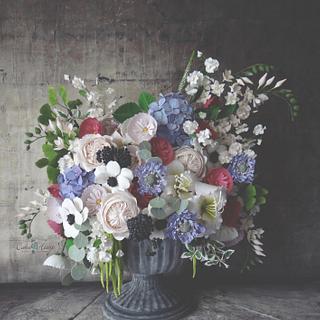 Still Life Florals:  Fine Art In Sugar Collaboration
