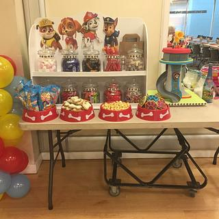 Little mans Paw Patrol Party