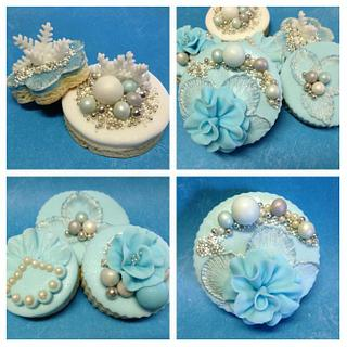Haute Couture Cookies (with video tutorial)