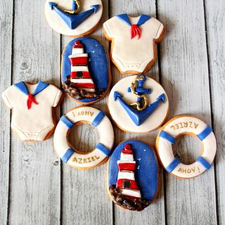 Nautical - Cake by Slice of Heaven By Geethu