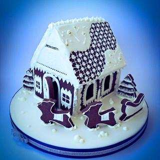 gingerbreadhouse - Cake by Angela Cassano