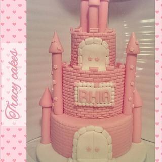 Princess Castle Cake - Cake by Tracycakescreations