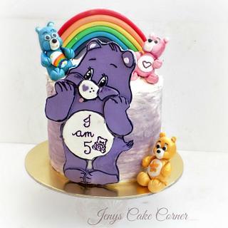 Care Bears - Cake by Jeny John