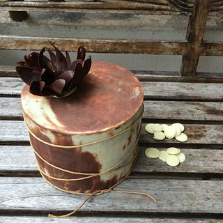 Rustic chocolate beauty!