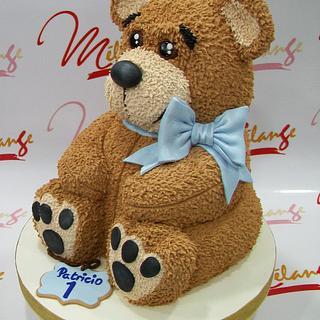 "TORTA TALLADA ""TEDDY BEAR"""