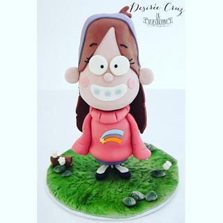 Mabel-Gravity Falls Cake