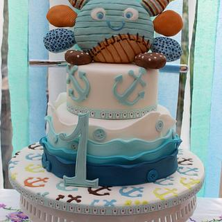Eli's nautical cake