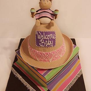 Sombrero themed baby shower