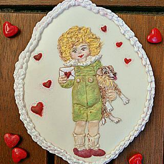 Loving kid - Cake by Gele's Cookies