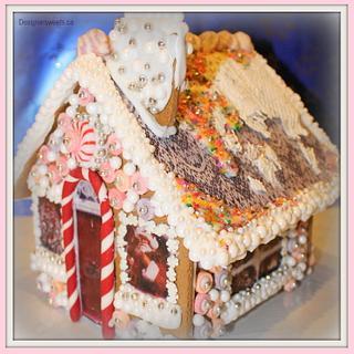 Designer Gingerbread House