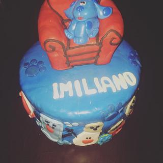 Blue's clues birthday  - Cake by Cakes by Crissy