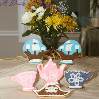 Pirate & Princess Tea Party Cookies