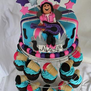 pop star cake - Cake by gingerbreads