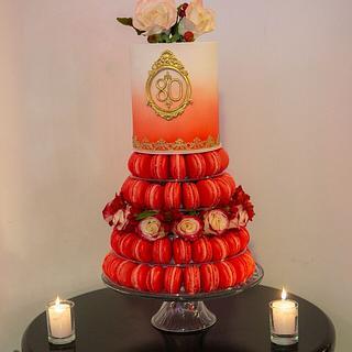 Torta Macarons