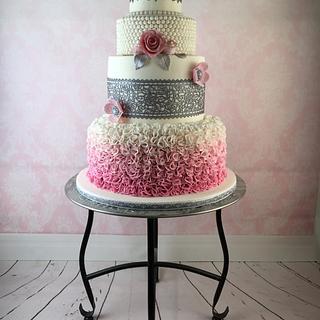 "My ""Perfect Lace"" Cake - Cake by Bakhetzelf"