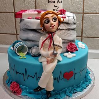 M.D. - Cake by Majka Maruška