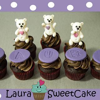 Polar Bears Cupcakes