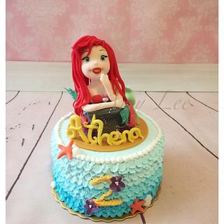 Little mermaid cake! - Cake by Vancouver Sugar Arts