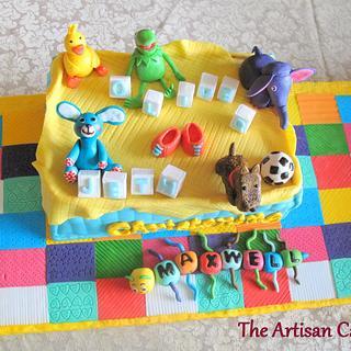 my son's favorite toys - Cake by Jocelyn Ryan