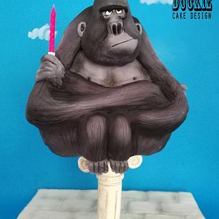 Gorilla on a Pillar