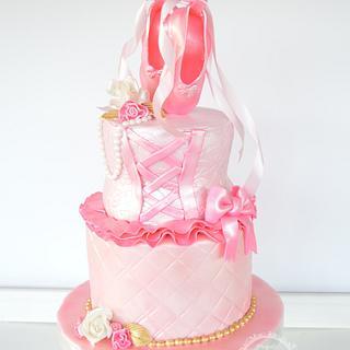 Sweet in pink Ballerina
