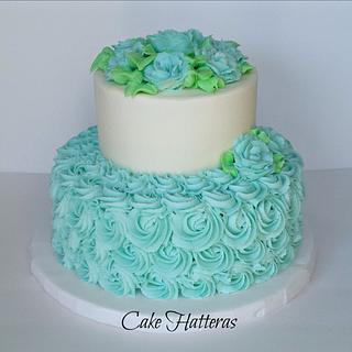 A Bridal Shower Cake