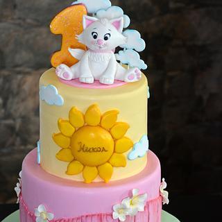 Kitten cake :)
