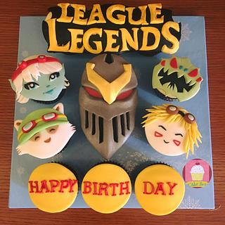 League of Legend Cupcakes