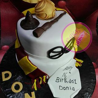 Harry potter cake - Cake by Cake Boss