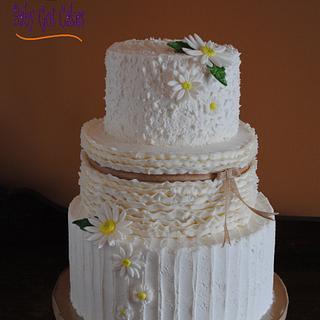 Rustic Daisy Wedding