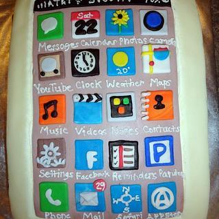 I Phone Cake - Cake by Amanda Reinsbach